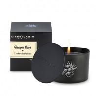 Черна хвойна - Ароматна свещ (времетраене на горене 28 часа)
