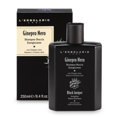 Черна хвойна - Енергизиращ шампоан за коса и тяло 250мл.