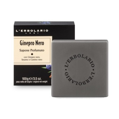 Black Juniper - Perfumed Soap - limited edition - 1 sapone da 100 g