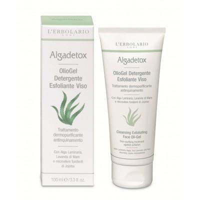 Algadetox Cleansing Exfoliating Face Oil-Gel