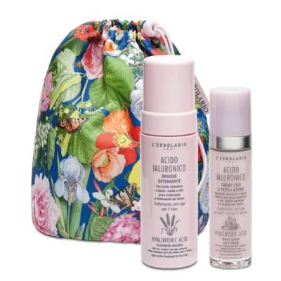 Хиалуронова киселина - Комплект от два продукта с елегантна чанта