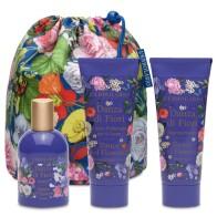 Танцът на цветята - Комплект от три продукта с елегантна чанта