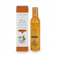 Слънцезащитно олио за коса с моной и кокосово масло SPF10