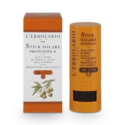 Слънцезащитен стик за лице и тяло с оризов восък и макадамия SPF50