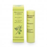 Защитен балсам за устни с маслина и чаено дърво