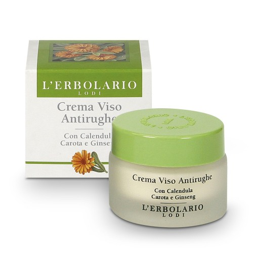 Крем за лице против бръчки с невен и морков - L'Erbolario..