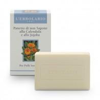 Неалкален сапун с невен и жожоба за чувствителна кожа